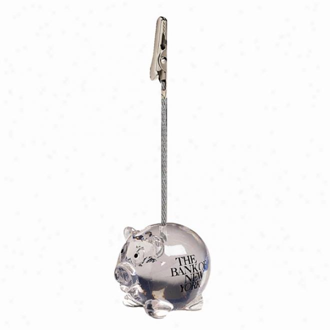 Pig Note Holder