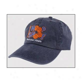 Pigment Dye Washed Cottton Hat