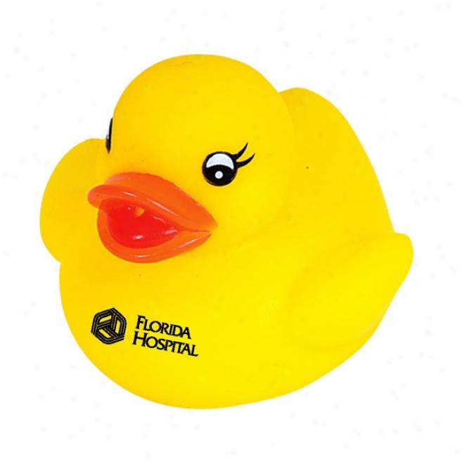 Plain Rubber Duck - Yellow