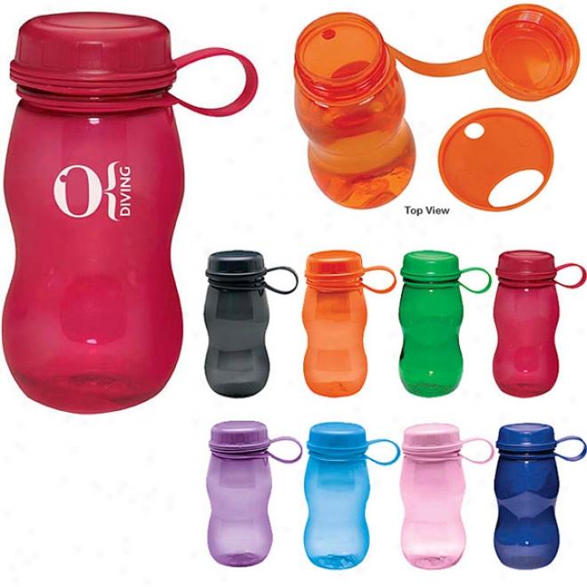 Polyclear Bottle - 18 Oz