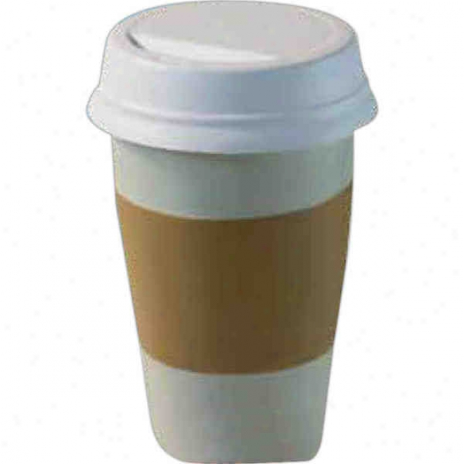 """""""take Out"""" Coffee Cup Squeezie"""