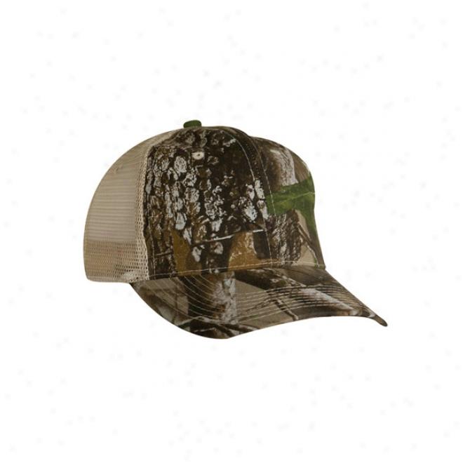 Real Tree Hardwood Trucker Cap