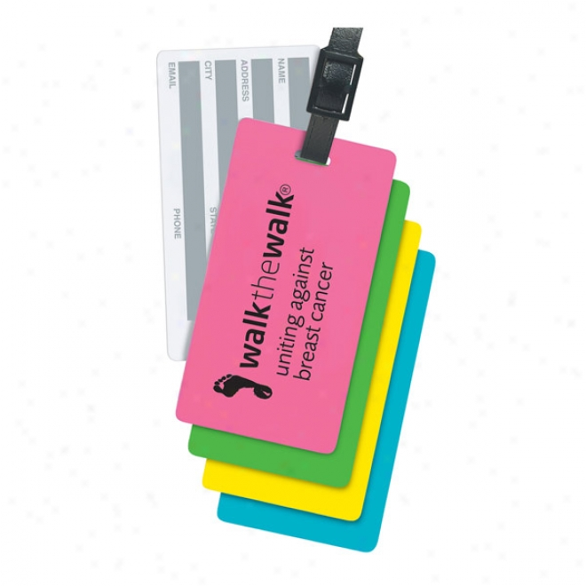 Rectangle Nson Write-on-back Tag