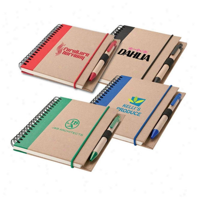 Recycled Notebook & Enclosure