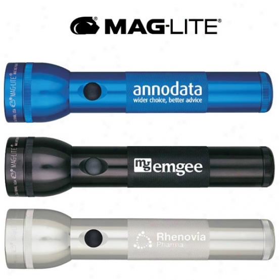 S2d Mag-lite 2d, Laser Engraved