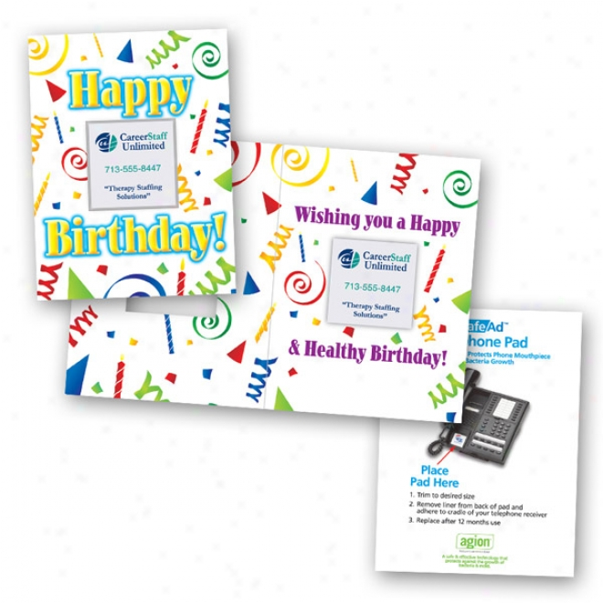 Safe Ad Happy Birthday Greeting Card