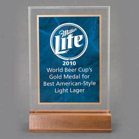 "Sapphire Marble Design Award - 7"" X 9 5/8"""