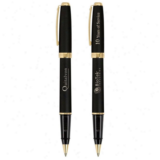 Sheaffer Prelude Coplection  Roller Ball-22k Gold Plate Trim