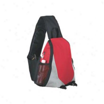 Shiny Texture Sling Bag