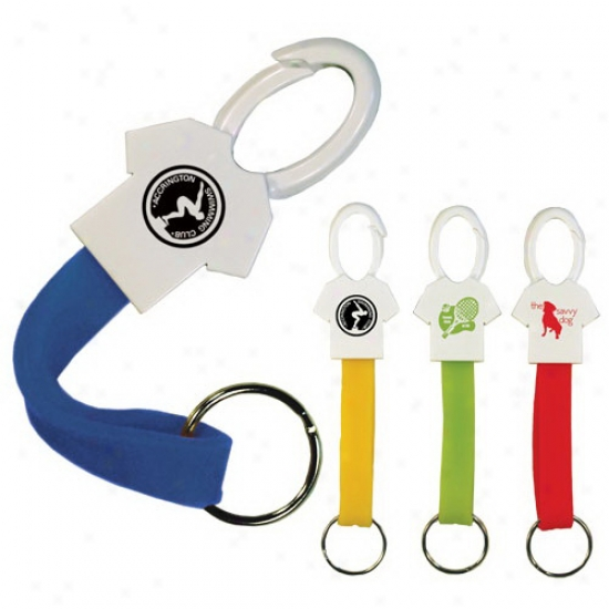 Sir Stretch-a-lot Key Chain