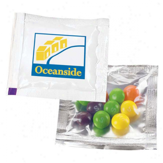 "Skittles 3"" X 3"" Treat Packet"