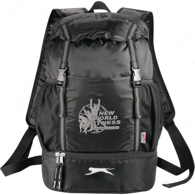 Slazenger Drop-bottom Drawstring Backpack