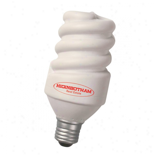 Special Shape Stress Relievers - Eco Ligt Bulb