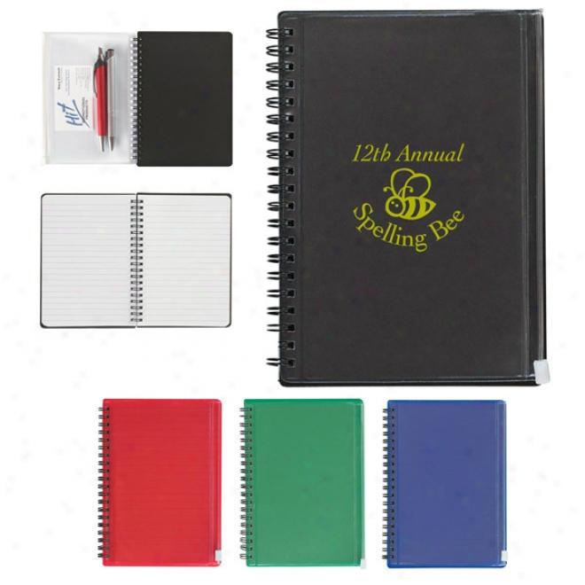 Spiral Notebook Attending Pouch