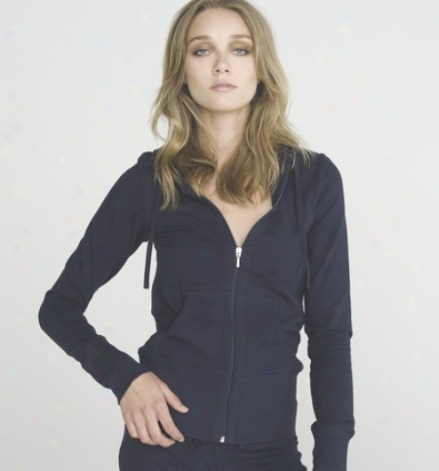 Streth Frsnch Terry Lounge Jacket