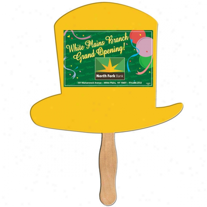 Excel Hat - Digital Economy Fans With Double Sidd Film Lamination