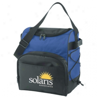 Travel Cooler With Double Zippered Main Compartment