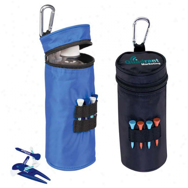 """Water Bottle Cooler With Tees - 2-1/8"""" Tee"""