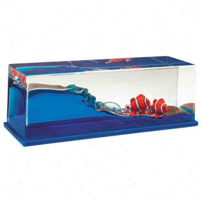 Wave Paperweight - Clownfish