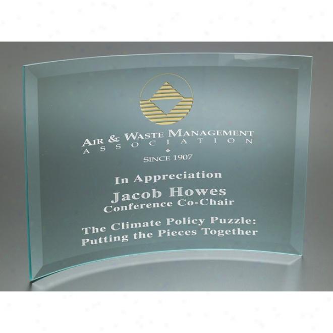 X-large Curved Prisma Award