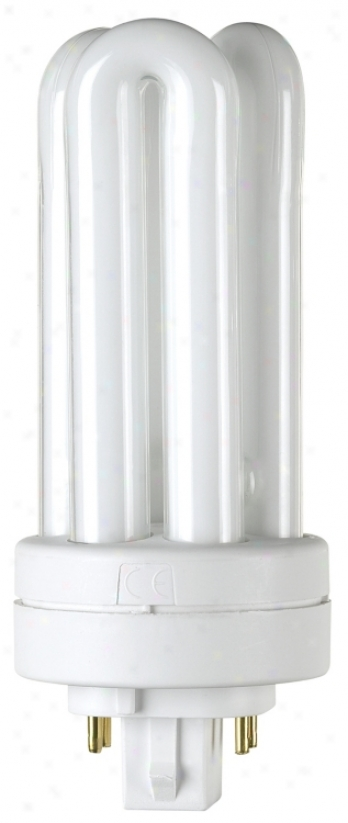 18-watt Triple Tube 4 Pin Cfl Whitish Bulb (17479)