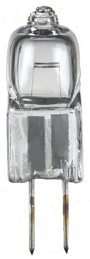 20 Watt Halogen G4 Bi-pin Low Voltage Light Bulb (05739)
