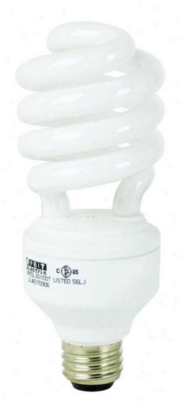 23 Watt Dimmable Cfl Twist Light Bulb (w5604)