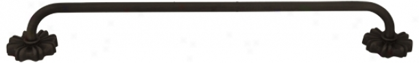 "24"" Wide Sevill eCollection Oil-rubbed Bronze Towel Bar (13205)"