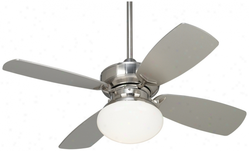 "36"" Casa Vieja Prospect Brushed Nickel Ceiling Fan (m2746)"
