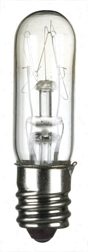 4-pack 15-watt Clear Candelabra Tube Light Bulbs (39869)