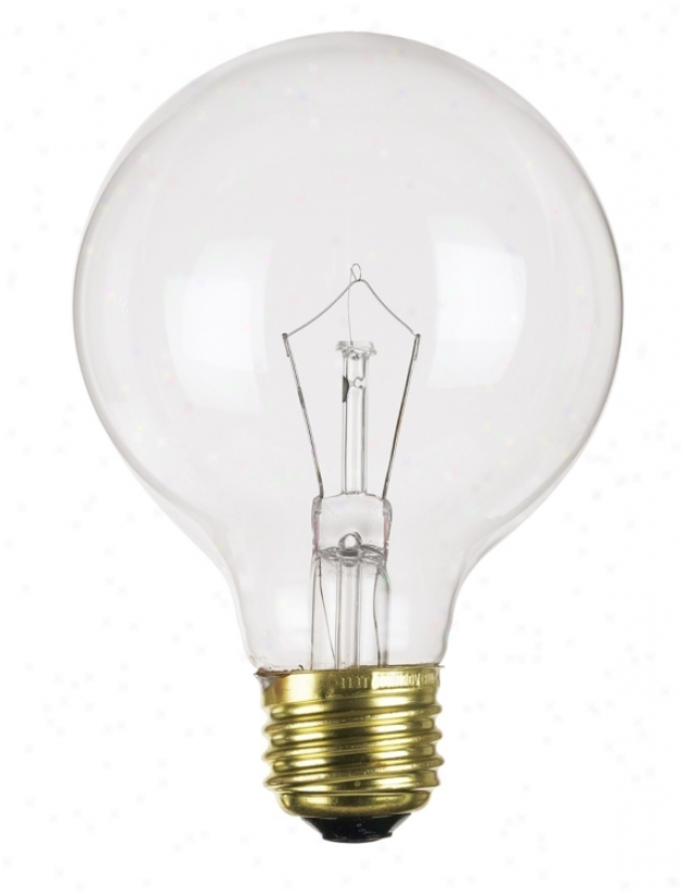 40 Watt G-25 Clear Light Bulb( 25145)