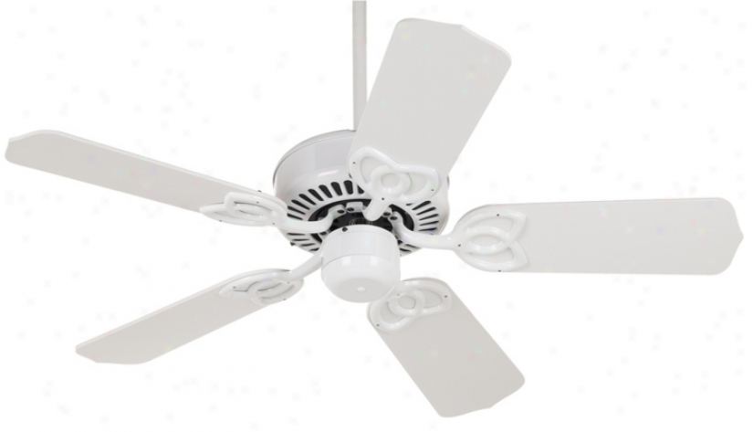 "422"" Casa Vieja Lexington White Ceiling Fan (15116)"