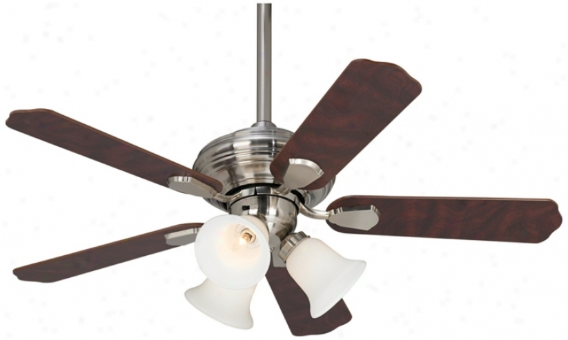 "42"" Crossroad™ Brushed Nickel Ceiling Fan (r3608)"