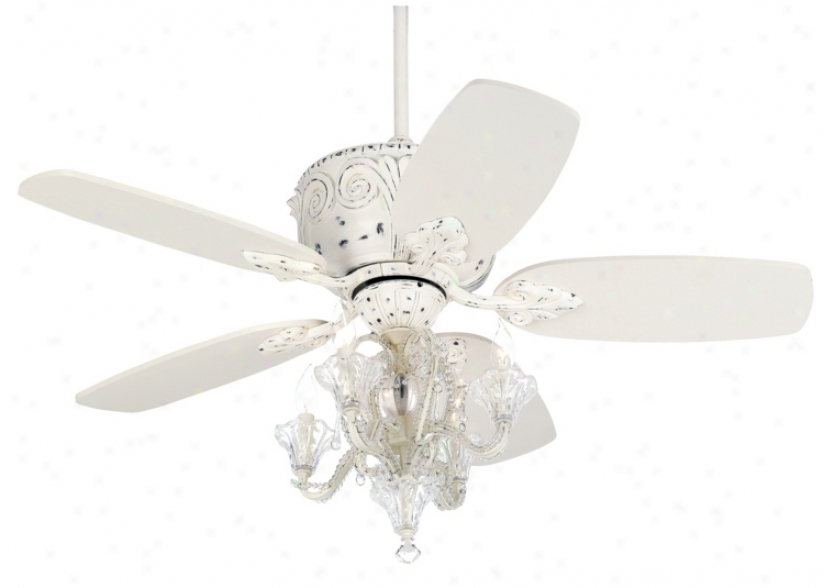 "43"" Casa Deville Candelabra Ceiling Fan With Remote Control (87534-45955-01464-74782-74780)"