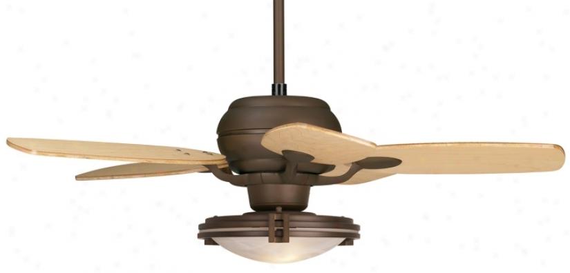 """43"""" Casa O0tima Oil Rubbed Bronze Ceiling Fan (74557-98740-23522)"""