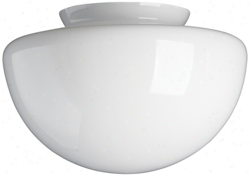 "4"" Fitter Squashballl Frosted Glass Shade (09923)"
