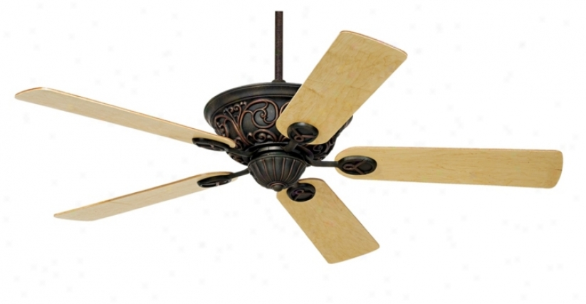 "52"" Casa Contessa™ Dark Copper Bronze Ceiling Fan (55878-00298)"