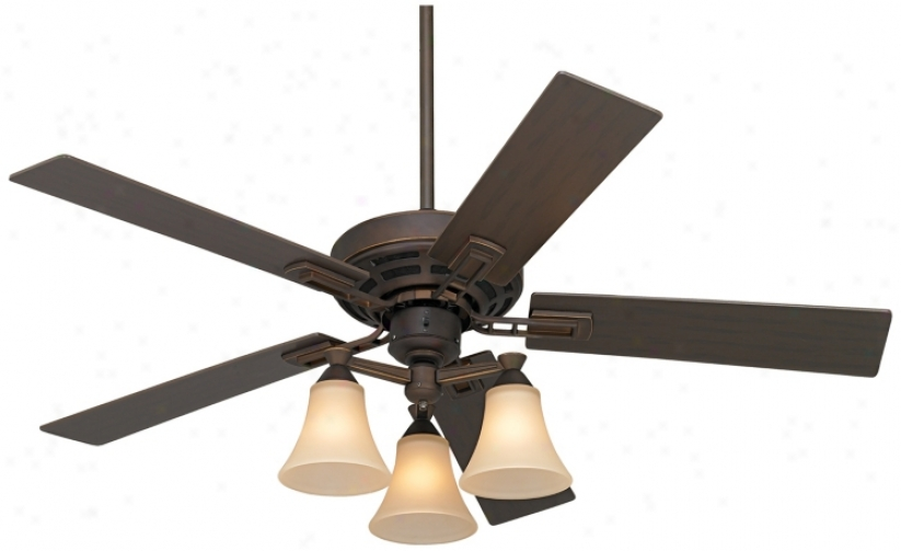 "52"" Casa Coronado Oil-rubbed Bronze Ceiling Fan (m2471)"