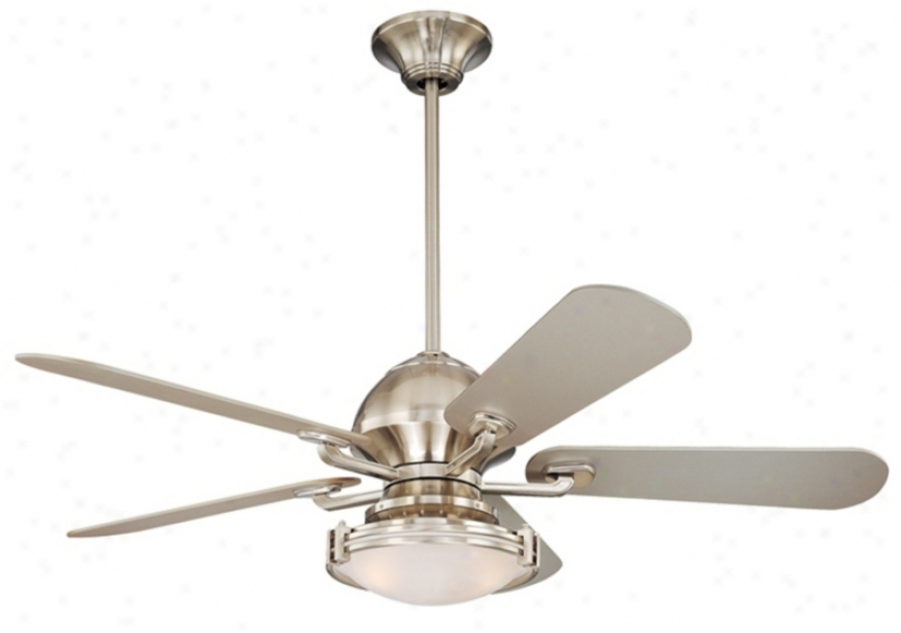 """52"""" Casa Fusion ™ Contemporary Ceiling Fan With Remote (84445-15645-74783-74780)"""