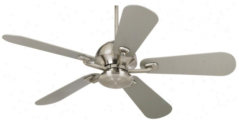 "52"" Casa Fusion™ Brushed Nickel Ceiling Fan (84445)"