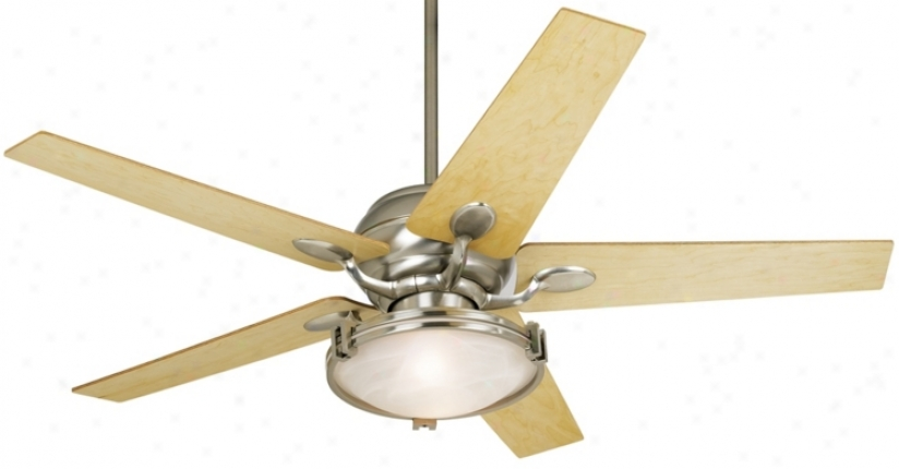 "52"" Casa Optima™; Maple Veneer Blade Ceoling Fan (86646-32436-15645-74782-74780)"