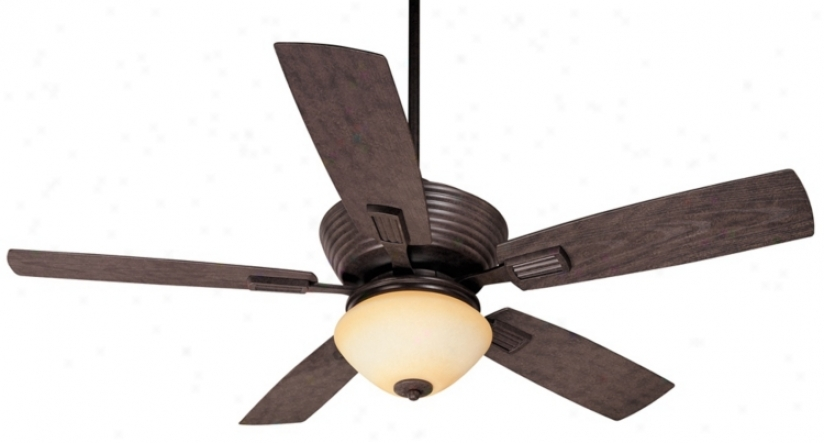 "52"" Casa Vieja Bal Harbour Outdoor Ceiling Fan With Light (m5079-p0098)"