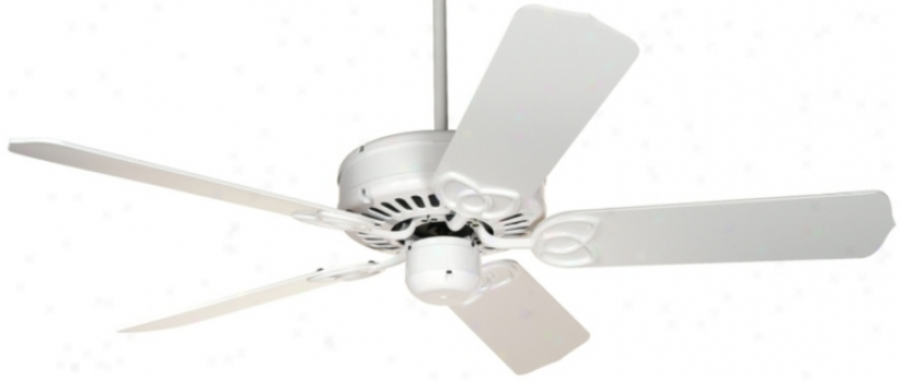 "52"" Casa Vieja L3xington Energy Star White Ceiling Fan (16547)"