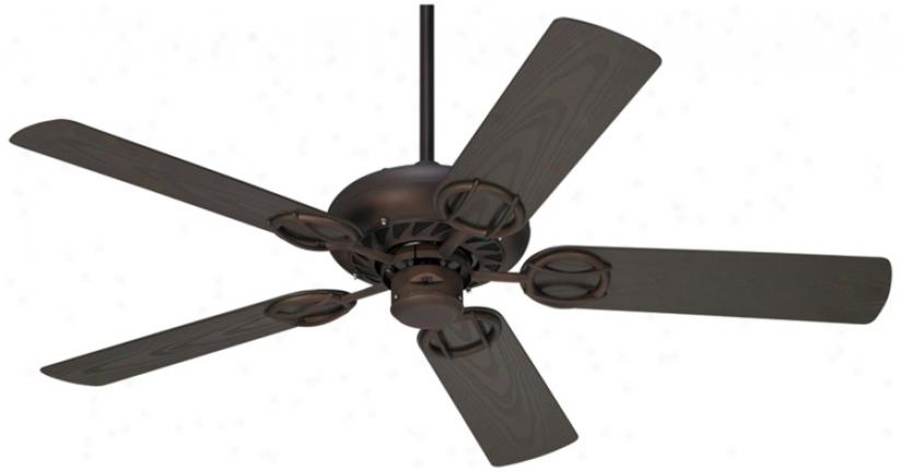 """52"""" Casa Vieja Orb Wet Location Ceilint Fan (r4218)"""