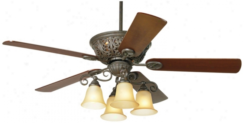 "52"" Costa Del Sol™ Scroll Ceiling Fan (37565)"