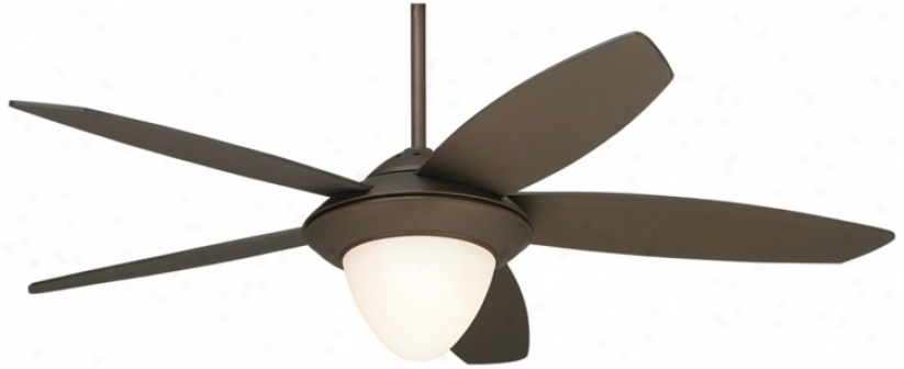 """52"""" Crossover Oil-rubbed Bronze Ceiling Fan (p9571)"""