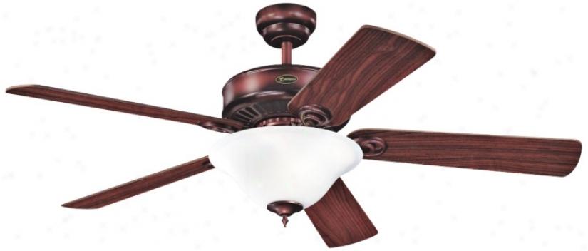 52&qut; Westinghouse Rustic Brass Energy Star® Ceiling Fan (88286)