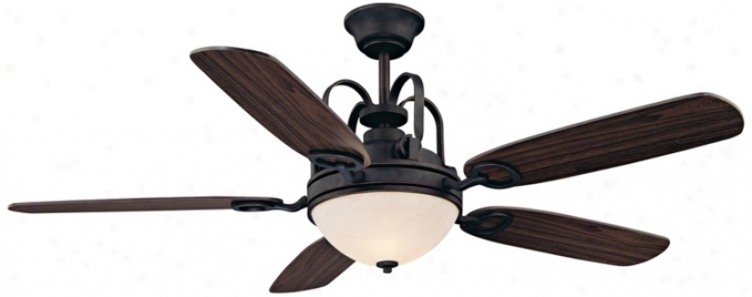 "54"" Savoy House Orion Slate Ceiling Fan (n5180)"