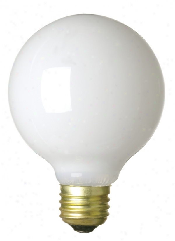 60-watt G-25 White Light Bulb (25122)