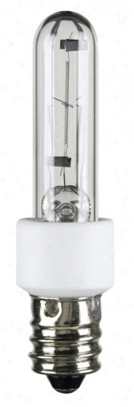 60 Watt Krypton/xenon Clear Candelabra Light Bulb (68498)